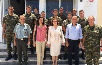 Δήλωση Αυγερινοπούλου για την Ημέρα των Ενόπλων Δυνάμεων