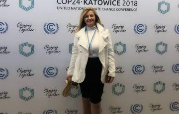 Συμμετοχή Δρ. Αυγερινοπούλου στη Διεθνή Διάσκεψη του ΟΗΕ για το Κλίμα στο Κατοβίτσε της Πολωνίας