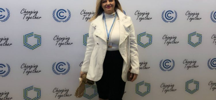 Dr. Avgerinpoulou's Participation at the 24th Conference of the Parties to the United Nations Framework Convention on Climate Change in Katowice, Poland
