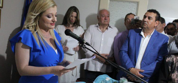 Αυγερινοπούλου : Εναρκτήρια ομιλία στα εγκαίνια του Πολιτικού της Γραφείου στην Αμαλιάδα