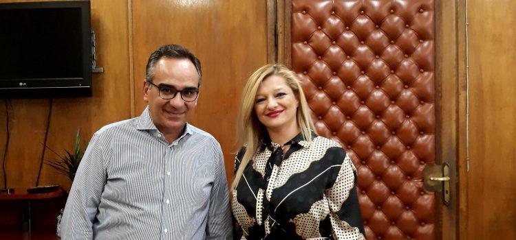 Εφ' όλης της ύλης συνάντηση Αυγερινοπούλου με τον Υφυπουργό Υγείας, κ. Κοντοζαμάνη