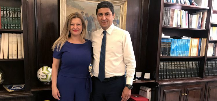 Αυγερινοπούλου: Επιχορήγηση και των ερασιτεχνικών αθλητικών σωματείων