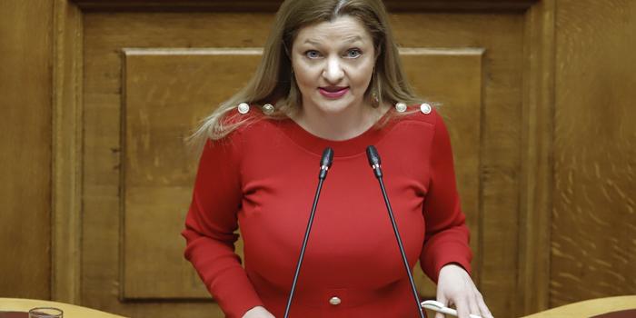 Αυγερινοπούλου: Ομιλία στη συζήτηση επί του Κρατικού Προϋπολογισμού οικονομικού έτους 2020 με αναφορές στην Ηλεία