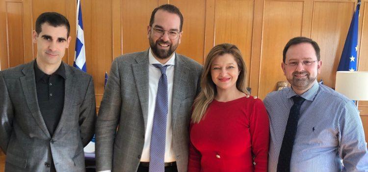 Συνάντηση Αυγερινοπούλου – Φαρμάκη – Γιαννόπουλου ενόψει του προγραμματισμού των έργων του 2020 για το Νομό Ηλείας