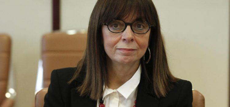 Συγχαρητήρια της Δρ. Αυγερινοπούλου στην Αικατερίνη Σακελλαροπούλου