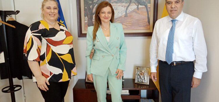 Συνέχιση εντατικών επαφών Αυγερινοπούλου για τα αναπτυξιακά έργα και τις υποδομές του Ν. Ηλείας