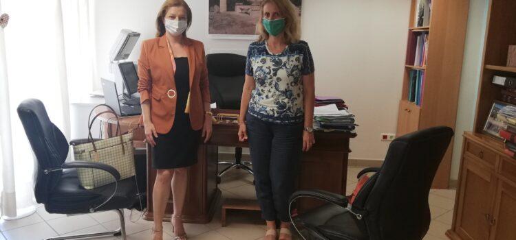 Αυγερινοπούλου: Προτεραιότητα στον αρχαιολογικό πλούτο της Ηλείας Συνάντηση με την Διευθύντρια της Εφορείας Αρχαιοτήτων Ηλείας