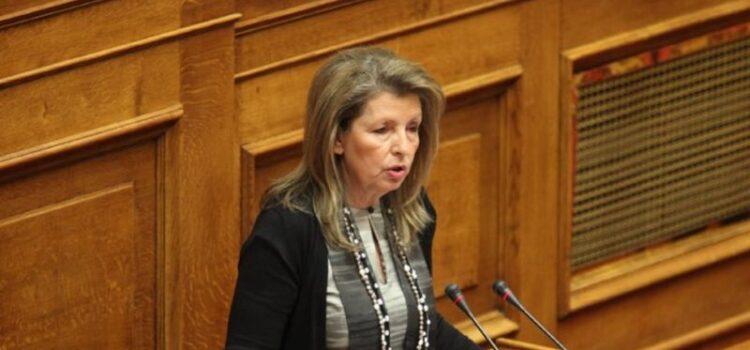 Συλλυπητήρια Αυγερινοπούλου για την απώλεια της Ευγενίας Τσουμάνη – Σπέντζα