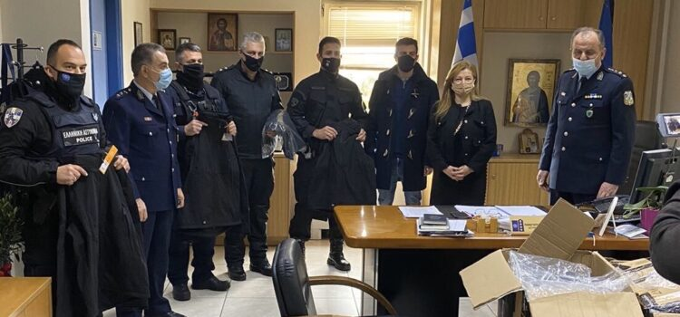 Σημαντική δωρεά προς την Διεύθυνση Αστυνομίας Ηλείας από την Βουλευτή Διονυσία Αυγερινοπούλου