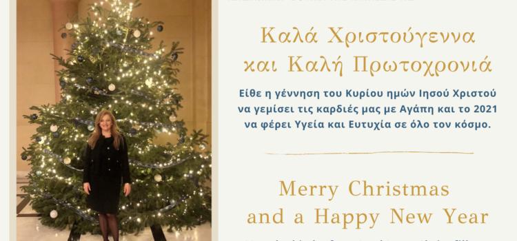 Χριστουγεννιάτικο Μήνυμα για τις οικογένειες του Ν. Ηλείας