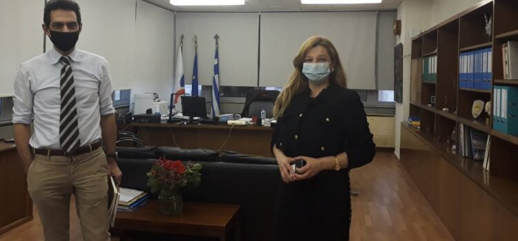 Αυγερινοπούλου: Συνάντηση εργασίας με ΟΣΕ για τo Πάτρας – Πύργου |  Αίτημα της Βουλευτού η επέκταση μέχρι την Κυπαρισσία