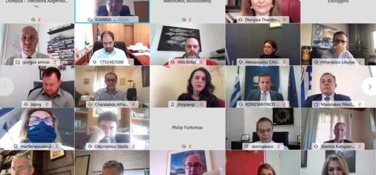 Παρέμβαση Αυγερινοπούλου στην τηλεδιάσκεψη της ΚΟ ΝΔ για τους δασικούς χάρτες για τα εκκρεμή ζητήματα της Ηλείας και την επόμενη ημέρα της ολοκλήρωσης των δασικών χαρτών