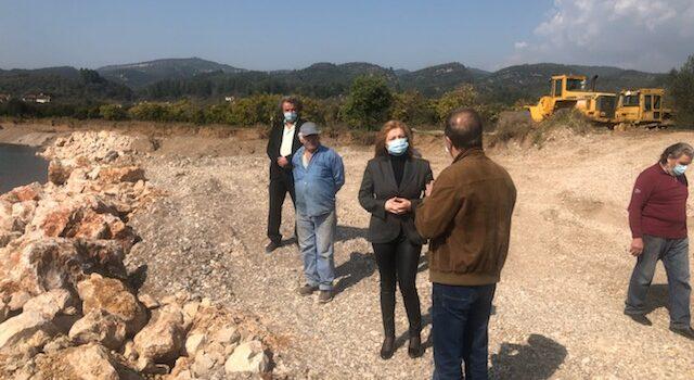 Επίσκεψη Δ. Αυγερινοπούλου στον Δήμο Αρχαίας Ολυμπία και το Δήμο Ζαχάρως – Φιγαλείας για τη διαχείριση των υδάτων