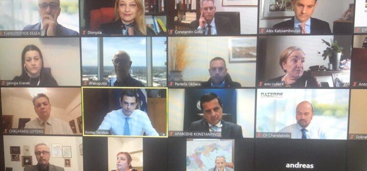 Χαιρετισμός Δ. Αυγερινοπούλου στη διαδικτυακή εκδήλωση κοπής πίτας της ΕΕΔΣΑ και του ΠΑΣΕΠΠΕ: Απαραίτητοι εταίροι στην υλοποίηση της περιβαλλοντικής πολιτικής οι επιχειρήσεις