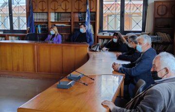 Συνάντηση Αυγερινοπούλου με αγρότες του Δ. Πηνειού  | Ανοίγει η πλατφόρμα για τις αποζημιώσεις για τις ελαιοκαλλιέργειες